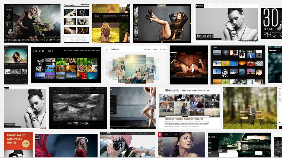 WordPress Photography Portfolio Themes