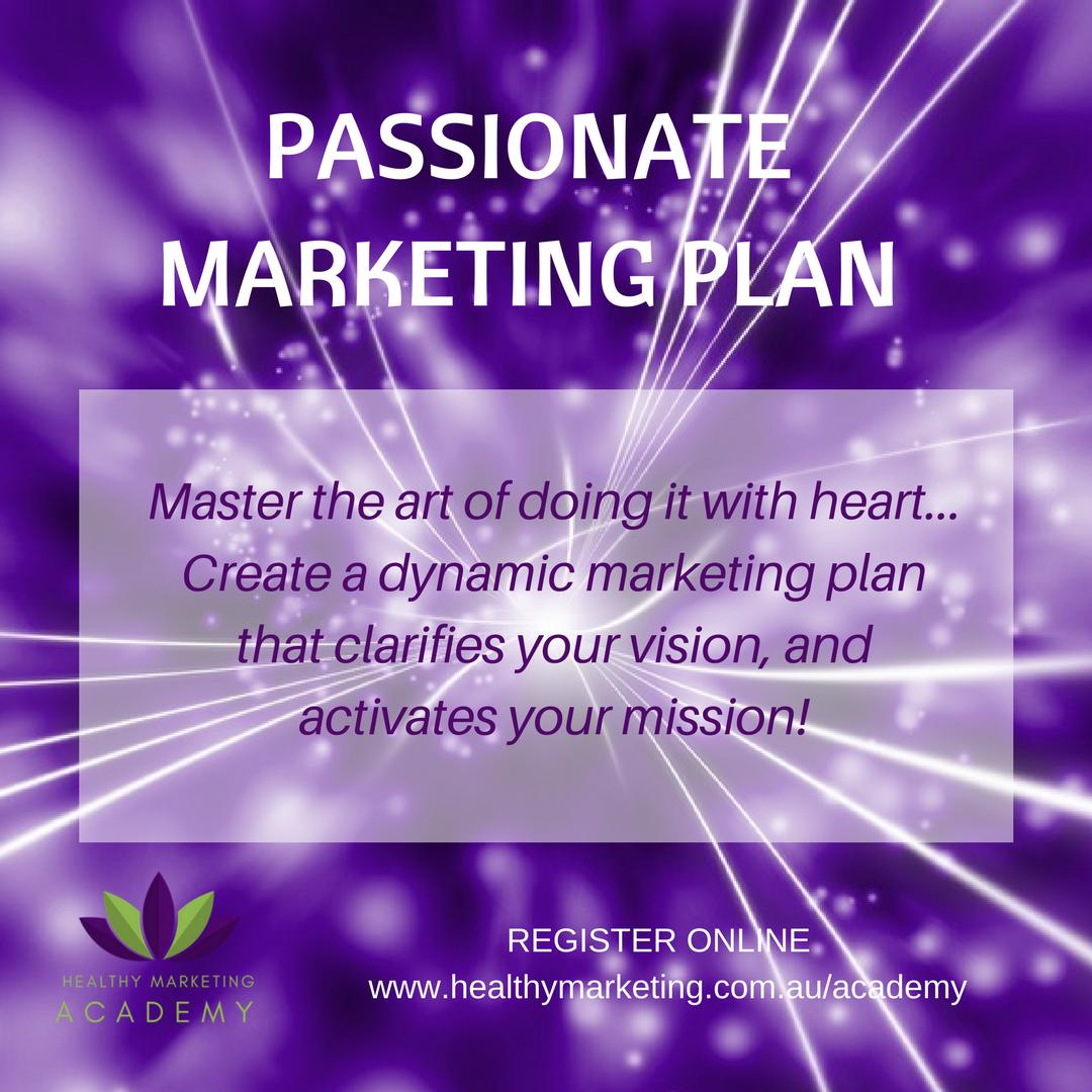 Passionate Marketing Plan with Krishna Everson