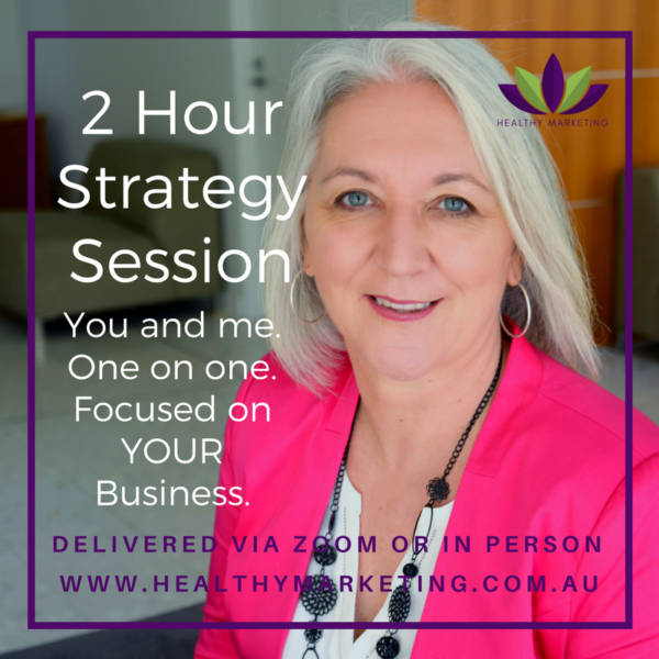 2 Hour Health Marketing Strategy Session with Krishna Everson